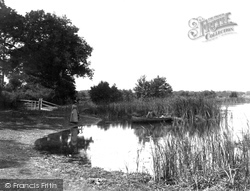 Coltishall, The River Bure 1902