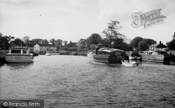 Coltishall, The River Bure c.1965