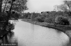 Coltishall, View From The Bridge 1950
