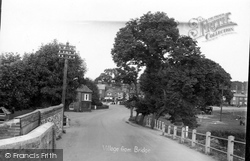 Coltishall, Village From Bridge c.1950