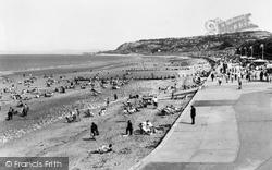 Colwyn Bay, Beach c.1960