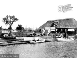 Colwyn Bay, Boating Lake, Eirias Park 1950