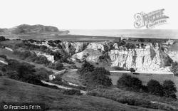 Colwyn Bay, Bryn Euryn Quarry 1890