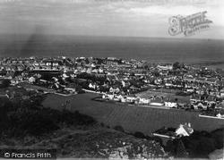 From Bryn Euryn c.1939, Colwyn Bay