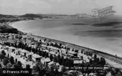 Colwyn Bay, From Penmaen Head c.1960