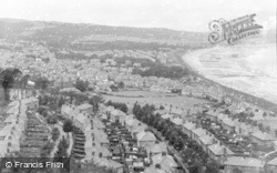 Colwyn Bay, General View 1950
