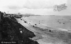 Colwyn Bay, Looking Towards Rhos c.1900