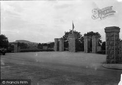 New Gates, Eirias Park c.1930, Colwyn Bay