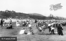 Colwyn Bay, On The Sands 1898