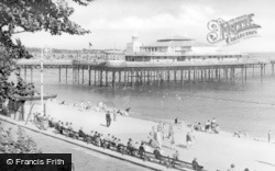 Colwyn Bay, Pier And Promenade c.1950