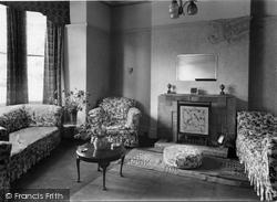 Plas-Y-Coed Drawing Room c.1955, Colwyn Bay