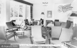 Colwyn Bay, Plas-Y-Coed, Lounge c.1960