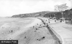 Colwyn Bay, Promenade And Penmaenhead c.1950