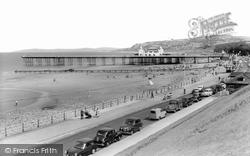 Colwyn Bay, Promenade And Pier c.1960