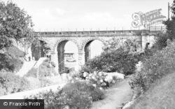 Colwyn Bay, Rock Gardens, Eirias Park c.1939
