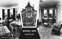 Colwyn Bay, Rothwell House Composite c.1950