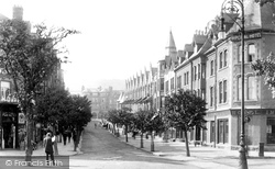 Colwyn Bay, Station Road 1906