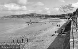 Colwyn Bay, The Beach c.1960