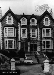 Colwyn Bay, The Grosvenor Hotel c.1965