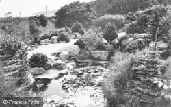 Colwyn Bay, The Lily Pond, Eirias Park c.1939