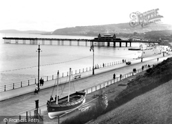 Colwyn Bay, The Pier And Promenade c.1939