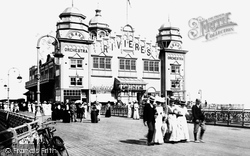 Colwyn Bay, The Pier Pavilion 1900