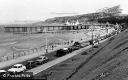 Colwyn Bay, The Promenade And Pier c.1960