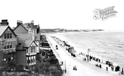 Colwyn Bay, West Promenade 1906