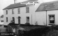 Colyford, The Yeoman's Acre Hotel c.1965