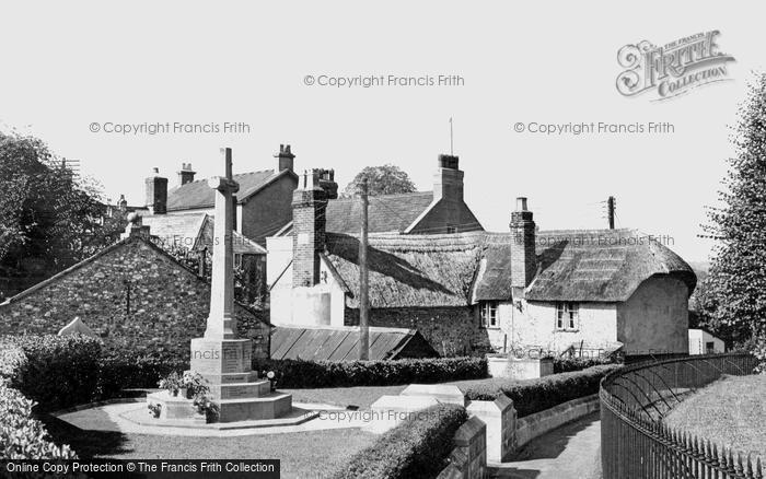 Colyton, Church Path c1955