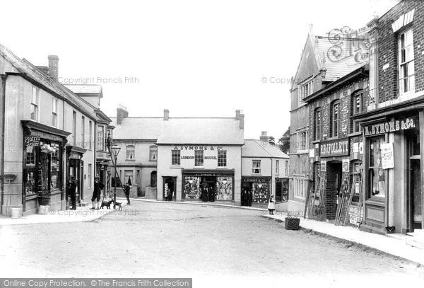Colyton, Market Place 1907