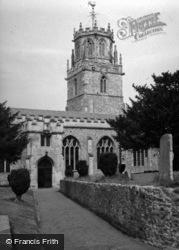 St Andrew's Church 1958, Colyton
