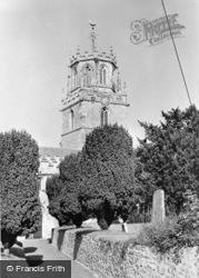 St Andrew's Church c.1955, Colyton