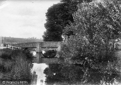 Colyton, The Chantry Bridge 1907