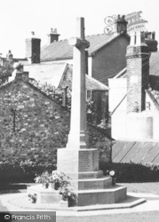 Colyton, War Memorial  c.1955