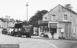 Combe Down, Church Road, Greengrocers c.1960