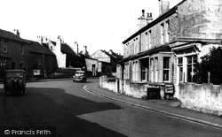 Combe Down, Combe Road c.1955