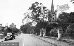 Combe Down, Holy Trinity Church c.1955