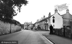 Combe Down, The Horse Shoe Inn c.1960