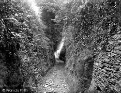 Combe Martin, A Devon Lane 1937