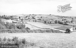 Combe St Nicholas, General View c.1955