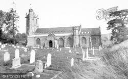 Combe St Nicholas, Parish Church c.1955