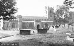 Combe St Nicholas, The Church c.1955