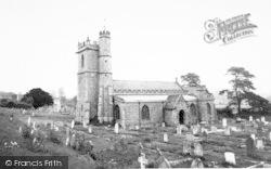 Combe St Nicholas, The Church c.1960