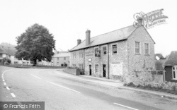 Combe St Nicholas, The George Inn c.1960