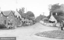 Combe St Nicholas, Vicarage Hill c.1955