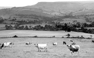 Combs, view across the Combs c1950
