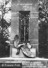 Compiègne, WWI War Memorial c1927