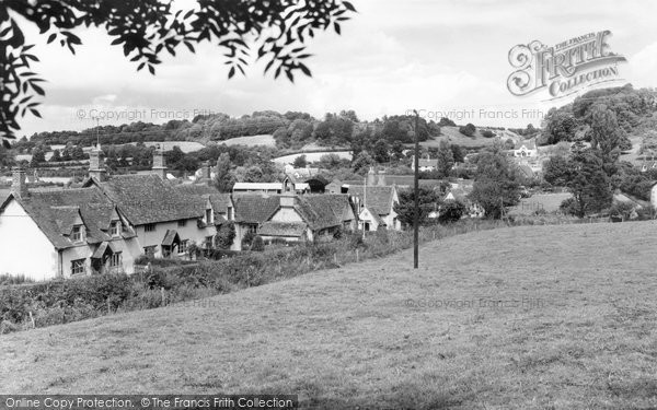 Photo of Compton Bassett, General View c1955