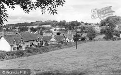 Compton Bassett, General View c.1955